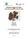 Cẩm nang kĩ thuật về hạt giống của Trung tâm nghiên cứu giống cây rừng