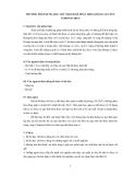 """Báo cáo nghiên cứu nông nghiệp """" PHƯƠNG PHÁP DÙNG QUE THỬ NHANH ĐỂ PHÁT HIỆN KHÁNG NGUYÊN CORONAVIRUS """""""