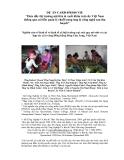 """Báo cáo nghiên cứu nông nghiệp """" Thúc đẩy thị trường nội tiêu & xuất khẩu trái cây Việt Nam thông qua cải tiến quản lý chuỗi cung ứng & công nghệ sau thu hoạch """""""