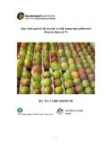 """Báo cáo nghiên cứu nông nghiệp """" Quy trình quản lý độ an toàn và chất lượng thực phẩm tươi đang áp dụng tại Úc """""""