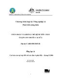 """Báo cáo nghiên cứu nông nghiệp """" CHẨN ĐOÁN VÀ KHỐNG CHẾ BỆNH TIÊU CHẢY Ở LỢN CON TRƯỚC CAI SỮA - Các báo cáo tại trại đối với các đàn ở phía Bắc – tháng 9/2006"""""""