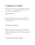"""7 sự thật thú vị về """"núi đôi"""""""