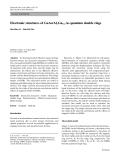 "Báo cáo hóa học: "" Electronic structures of GaAs/AlxGa1-xAs quantum double rings"""