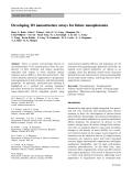 "Báo cáo hóa học: "" Developing 1D nanostructure arrays for future nanophotonics"""