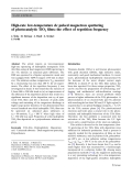 """Báo cáo hóa học: """" High-rate low-temperature dc pulsed magnetron sputtering of photocatalytic TiO2 films: the effect of repetition frequency"""""""