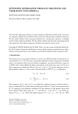 "Báo cáo hóa học: ""EXTENDING GENERALIZED FIBONACCI SEQUENCES AND THEIR BINET-TYPE FORMULA"""