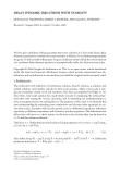 "Báo cáo hóa học: ""DELAY DYNAMIC EQUATIONS WITH STABILITY"""