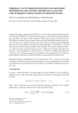"""Báo cáo hóa học: """"TERMINAL VALUE PROBLEM FOR SINGULAR ORDINARY DIFFERENTIAL EQUATIONS: THEORETICAL ANALYSIS AND NUMERICAL SIMULATIONS OF GROUND STATES"""""""