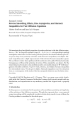 """Báo cáo hóa học: """" Research Article Reverse Smoothing Effects, Fine Asymptotics, and Harnack Inequalities for Fast Diffusion Equations"""""""