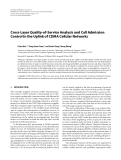 """Báo cáo hóa học: """"  Cross-Layer Quality-of-Service Analysis and Call Admission Control in the Uplink of CDMA Cellular Networks"""""""
