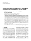 """Báo cáo hóa học: """"  Charge-Domain Signal Processing of Direct RF Sampling Mixer with Discrete-Time Filters in Bluetooth and GSM Receivers"""""""