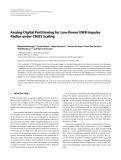 "Báo cáo hóa học: ""  Analog-Digital Partitioning for Low-Power UWB Impulse Radios under CMOS Scaling"""