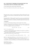 """Báo cáo hóa học: """" ON A FIXED POINT THEOREM OF KRASNOSEL'SKII TYPE AND APPLICATION TO INTEGRAL EQUATIONS"""""""