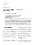 """Báo cáo hóa học: """"  Research Article Dataflow-Based Mapping of Computer Vision Algorithms onto FPGAs"""""""