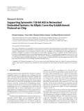 "Báo cáo hóa học: "" Research Article Supporting Symmetric 128-bit AES in Networked Embedded Systems: An Elliptic Curve Key Establishment Protocol-on-Chip"""