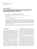 "Báo cáo hóa học: ""  Research Article Costs and Advantages of Object-Based Image Coding with Shape-Adaptive Wavelet Transform"""