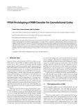 "Báo cáo hóa học: ""  FPGA Prototyping of RNN Decoder for Convolutional Codes"""