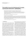 "Báo cáo hóa học: ""  A Novel Efficient Cluster-Based MLSE Equalizer for Satellite Communication Channels with M-QAM Signaling"""