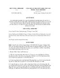 Quyết định số  09/2012/QĐ-TTg