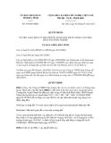 Quyết định số 30/QĐ-UBND
