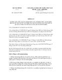 Thông tư số 12/2012/TT-BTC