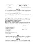 Quyết định số 106/QĐ-TTg