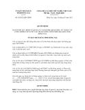 Quyết định số 10/2012/QĐ-UBND