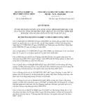Quyết định số 212/QĐ-BNN-CN