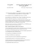 Thông tư số  24/2012/TT-BTC