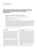 """Báo cáo hóa học: """"  Performance Evaluation of Indoor Localization Techniques Based on RF Power Measurements from Active or Passive Devices"""""""