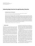 "Báo cáo hóa học: "" Evaluating Edge Detection through Boundary Detection """