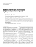 """Báo cáo hóa học: """" A Gradient-Based Optimum Block Adaptation ICA Technique for Interference Suppression in Highly Dynamic Communication Channels"""""""