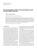 """Báo cáo hóa học: """" Advanced Integration of WiFi and Inertial Navigation Systems for Indoor Mobile Positioning"""""""