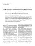 "Báo cáo hóa học: "" Unsupervised Performance Evaluation of Image Segmentation"""
