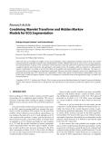"Báo cáo hóa học: ""  Research Article Combining Wavelet Transform and Hidden Markov Models for ECG Segmentation"""