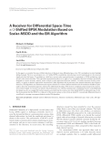 "Báo cáo hóa học: "" A Receiver for Differential Space-Time π/2-Shifted BPSK Modulation Based on Scalar-MSDD and the EM Algorithm"""