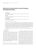 "Báo cáo hóa học: ""  Multimode Communication Protocols Enabling Reconfigurable Radios"""