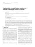 """Báo cáo hóa học: """" The Extended-Window Channel Estimator for Iterative Channel-and-Symbol Estimation"""""""
