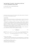TRICHOTOMY, STABILITY, AND OSCILLATION OF A FUZZY DIFFERENCE EQUATION G. STEFANIDOU AND G.