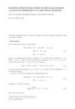 MULTIPLE POSITIVE SOLUTIONS OF SINGULAR DISCRETE p-LAPLACIAN PROBLEMS VIA VARIATIONAL METHODS RAVI