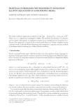 EIGENVALUE PROBLEMS FOR DEGENERATE NONLINEAR ELLIPTIC EQUATIONS IN ANISOTROPIC MEDIA ˘ DUMITRU