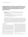"""Báo cáo hóa học: """"  Managing Algorithmic Skeleton Nesting Requirements in Realistic Image Processing Applications: The Case of the SKiPPER-II Parallel Programming Environment's Operating Model"""""""