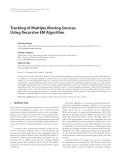 "Báo cáo hóa học: "" Tracking of Multiple Moving Sources Using Recursive EM Algorithm"""