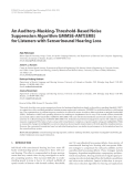 """Báo cáo hóa học: """" An Auditory-Masking-Threshold-Based Noise Suppression Algorithm GMMSE-AMT[ERB] for Listeners with Sensorineural Hearing Loss"""""""