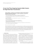 """Báo cáo hóa học: """"  A Low-Cost Time-Hopping Impulse Radio System for High Data Rate Transmission"""""""
