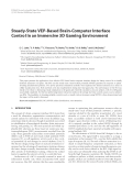 """Báo cáo hóa học: """" Steady-State VEP-Based Brain-Computer Interface Control in an Immersive 3D Gaming Environment"""""""