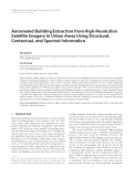 """Báo cáo hóa học: """" Automated Building Extraction from High-Resolution Satellite Imagery in Urban Areas Using Structural, Contextual, and Spectral Information"""""""