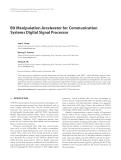"Báo cáo hóa học: ""  Bit Manipulation Accelerator for Communication Systems Digital Signal Processor"""