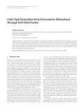 """Báo cáo hóa học: """"  Color Seal Extraction from Documents: Robustness through Soft Data Fusion"""""""