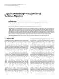"Báo cáo hóa học: ""  Digital IIR Filter Design Using Differential Evolution Algorithm"""